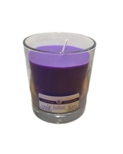 Lavender Large Glass Candle