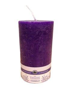 "Lavender 2.5"" x 4.5"" Pillar Candle Medium"