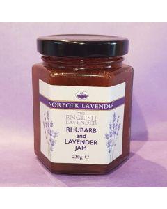 Rhubarb & Lavender Jam 230g