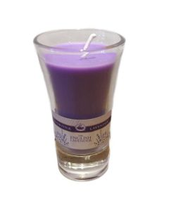 Lavender Shot Glass Candle