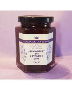 Strawberry & Lavender Jam 230g