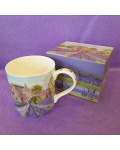 Norfolk Lavender Fine Bone China Mug