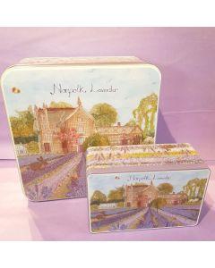 Norfolk Lavender Rectangle Tin