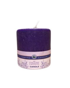"""Lavender 2.5"""" x 2.25"""" Pillar Candle Small"""